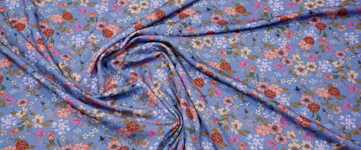 Max Mara - Blumen auf hellblau