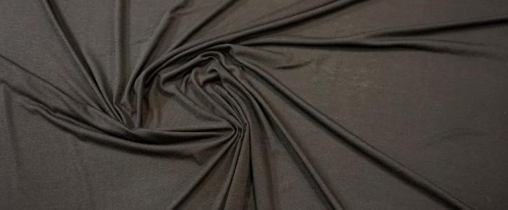 Seidenmix-Jersey - schwarz