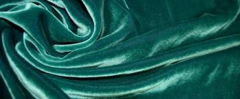 Seidensamt - grün