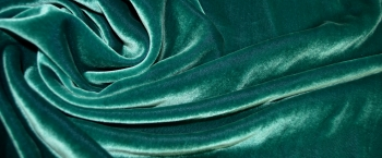 Pannesamt - grün