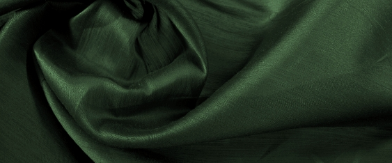Coupon leichter Taft - schilfgrün