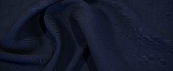 elastisches Doppelgewebe - nachtblau