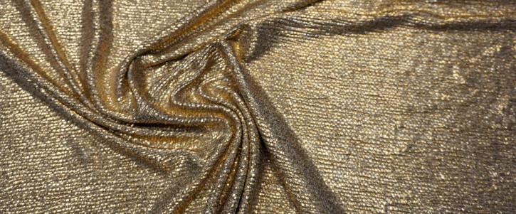 Viskosejersey - gold