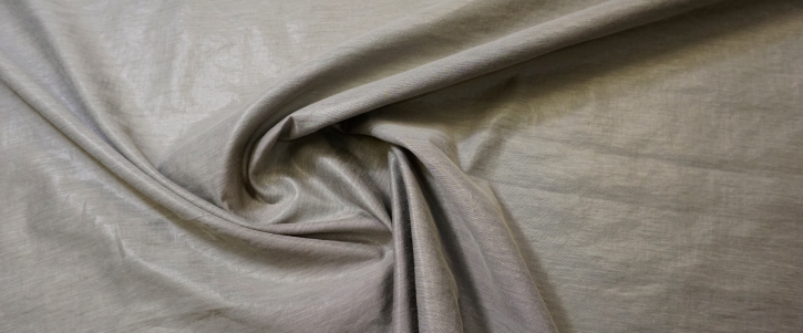 Viskose mit Polyester - steingrau