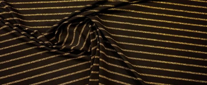 Romanitjersey - schwarz mit gold