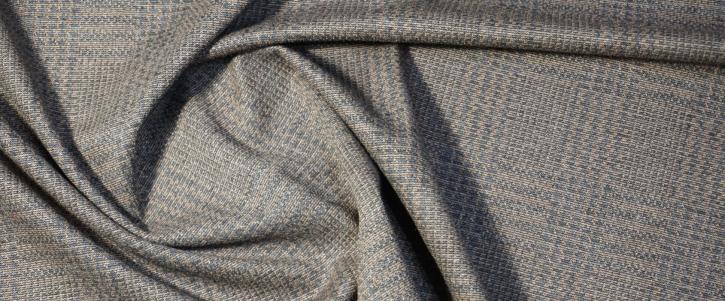 Viskosejersey - grau/beige