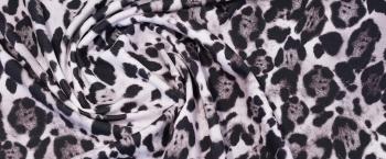 schwerer Viskosejersey - animalprint