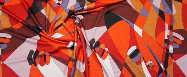 Romanitjersey - modern abstraktes Muster