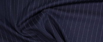 doppelseitiger Jersey - Nadelstreifen