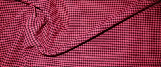 Kunstfaserstretch - fuchsia/schwarz