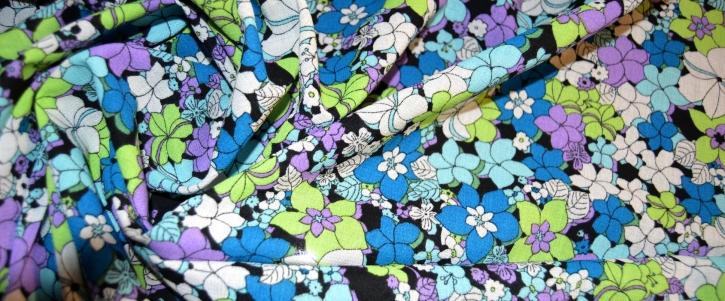 Coupon Viskosemischung - floral