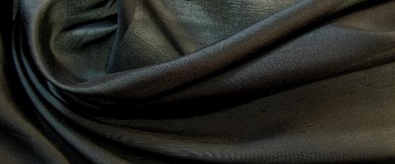 Rest Seide - schwarz