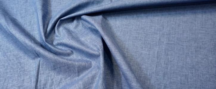 Viskose mit Leinen - blaugrau