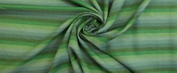 Beiderwand - grün gestreift