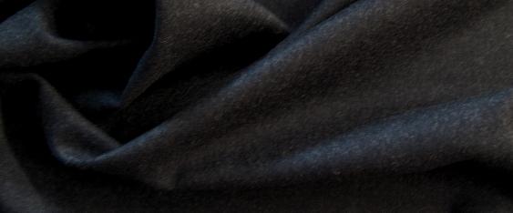 Merino - feiner Flanell in anthrazit
