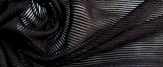 Chenille - schwarz