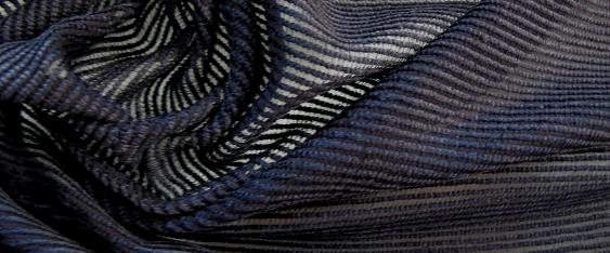 Chenille - nachtblau