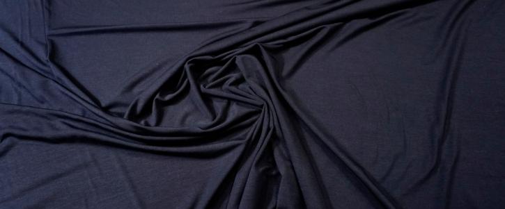 Bambusjersey - dunkelblau