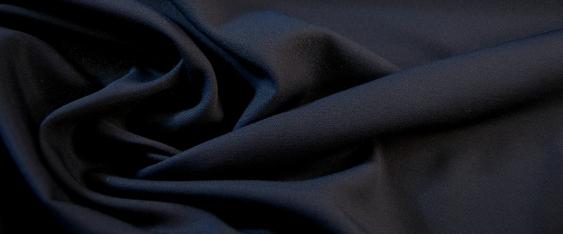 Schurwoll-Acetatmischung - nachtblau