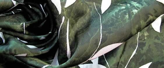 Polyester - Blattmotiv
