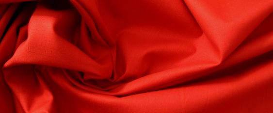 Baumwolle in Stretchqualität - tomato