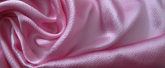 Satin mit Prägestruktur - rosa