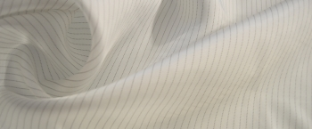 Viskosefutter - Nadelstreifen