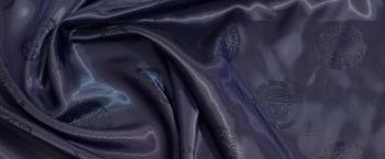 Jacquardfutter - dunkles royalblau