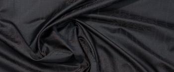 Viskosejacquard - schwarzbraun