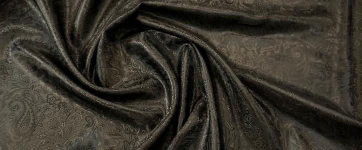 Viskosemix - Paisley, schwarz