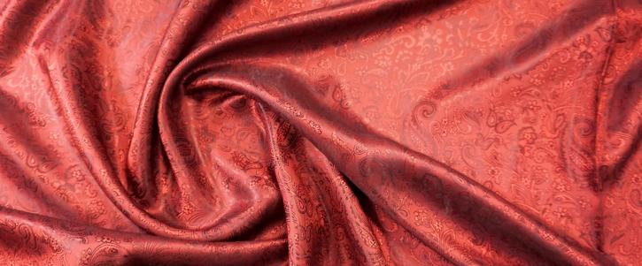 Viskosemix - Paisley, rot