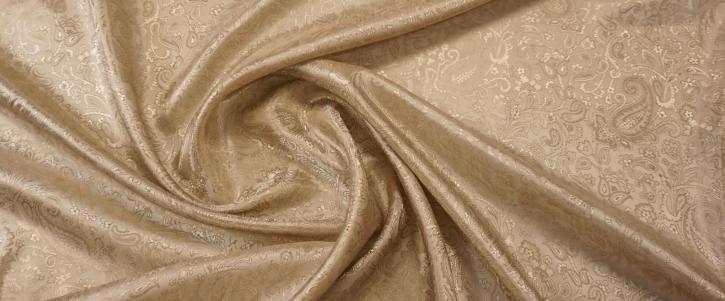 Viskosemix - Paisley, creme-gold