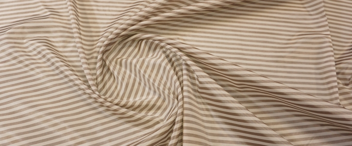 Viskose mit Baumwolle - weiß/braun