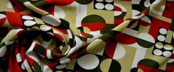 Viskose - geometrisches Muster