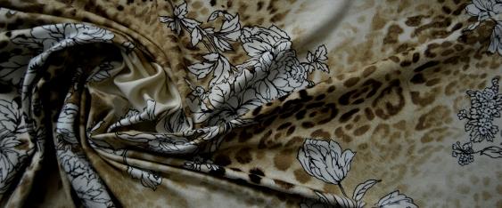 Rest Jersey - animal print und floral