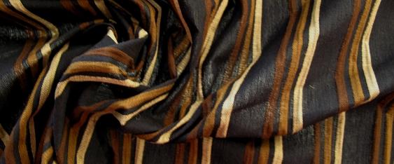 Baumwollmischung, Stretchqualität - gestreift