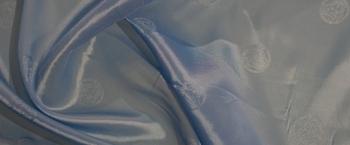 elastisches Futter - himmelblau
