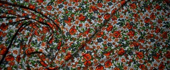 Baumwolljersey - floral