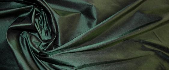 Dupion - flaschengrün