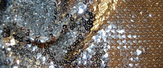 Paillette - 30 cm silber