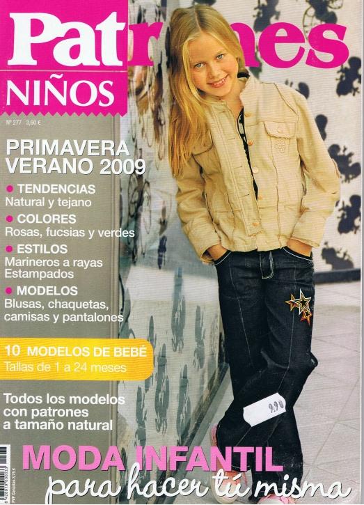 Patrones 2009 Ninos No. 277