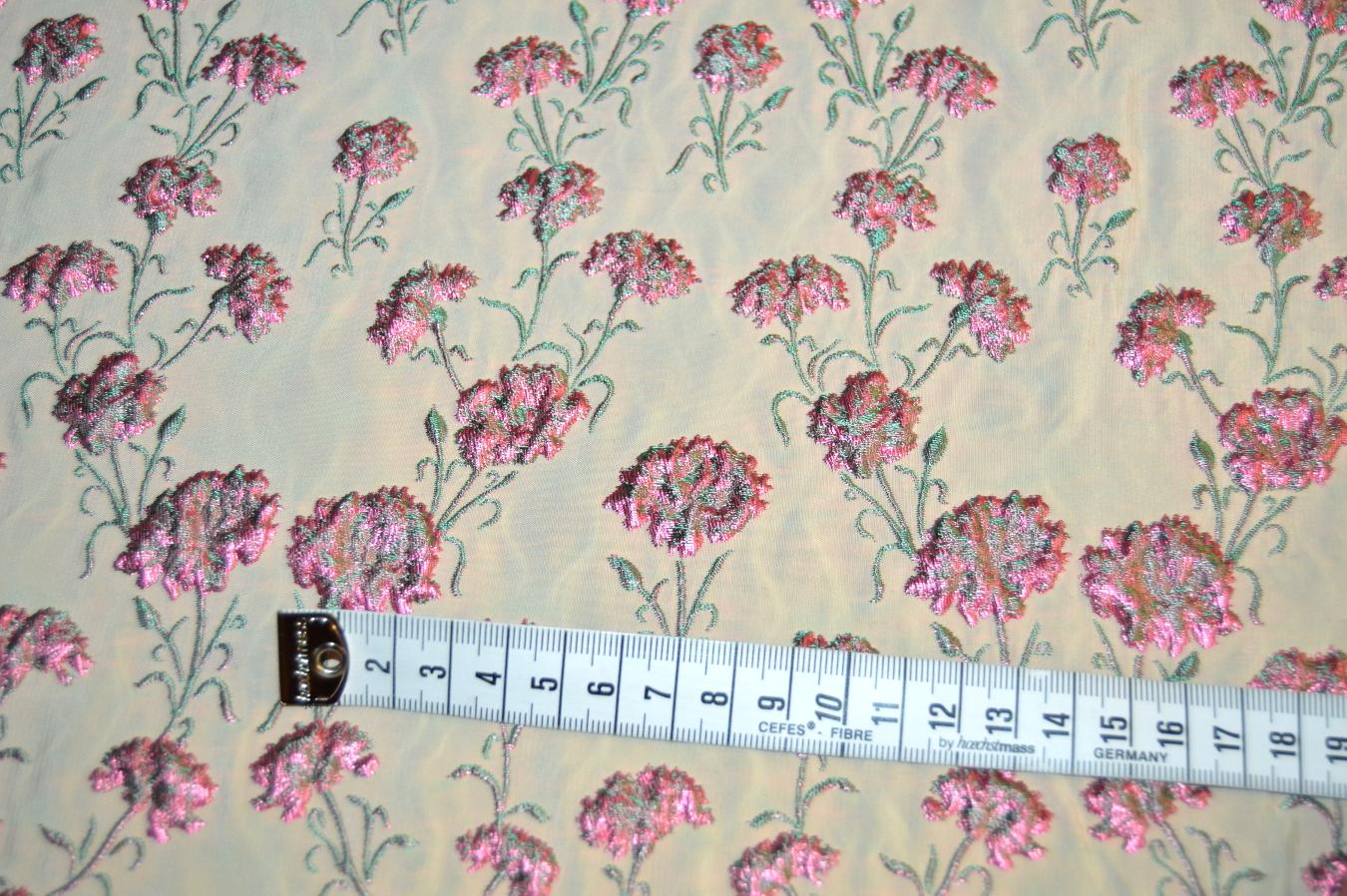 jacquard floralmotiv 318 607 7250. Black Bedroom Furniture Sets. Home Design Ideas