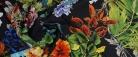 Seidenstretch - farbintensive Blumen