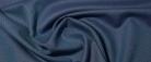 Schurwolle - blaues Fischgrat