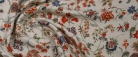 elastischer Viskosecrepe - Blumen
