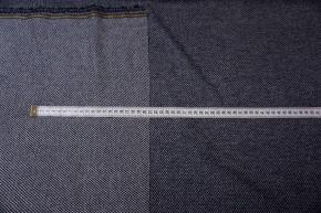 Kaschmir - dunkelblau mit weiß
