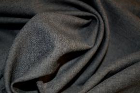 Schurwolle in Stretchqualität - grau