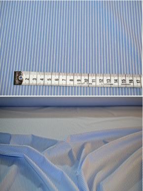 feine Blusen- und Hemdenqualität - gestreift