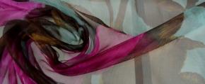 Rest Chiffon - Burda 5/2014 Kleid 139
