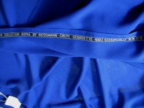 Crêpe Georgette - königsblau